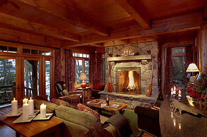 luxury cabin rentals lakeview